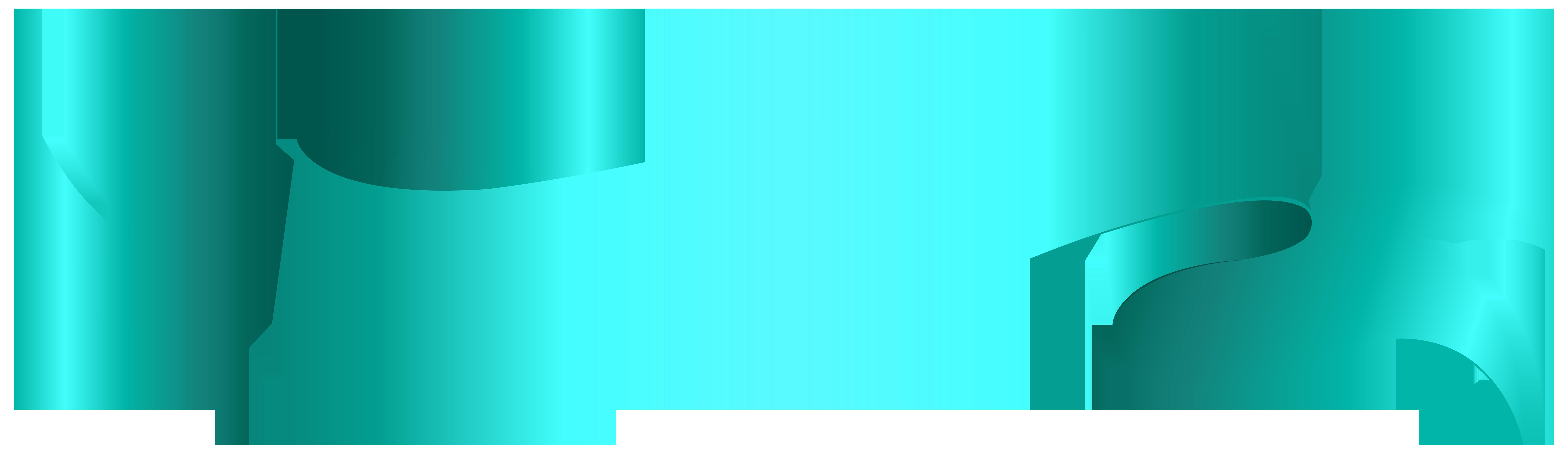 Banner Blue PNG Clip Art Transparent Image.