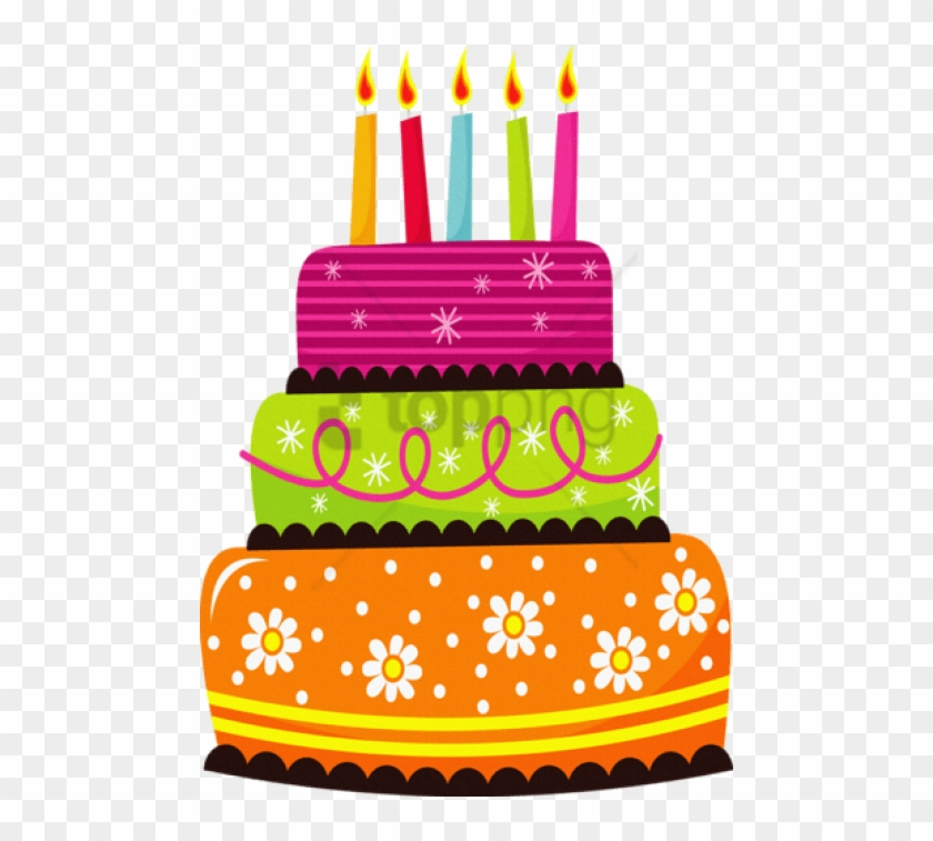 Free Png Birthday Cake Png Image With Transparent Background.