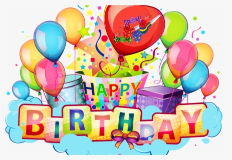 Free Birthday Transparent Background Clip Art with No.