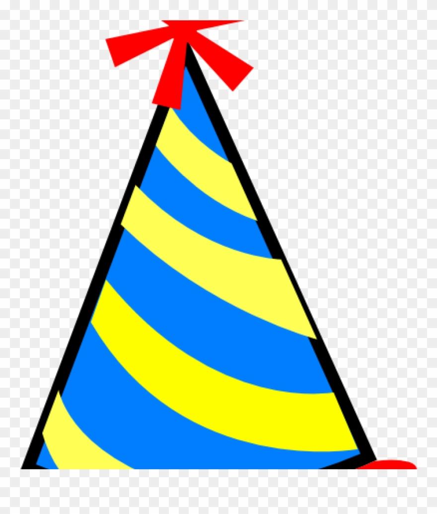 Transparent Background Birthday Hat Clipart (#3871642.