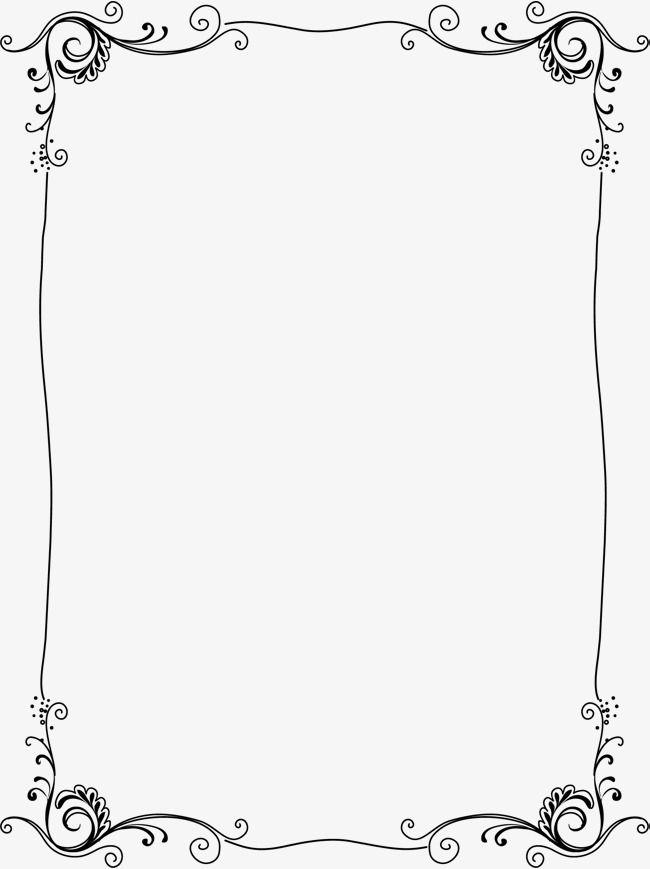 Transparent Border, Vertical, Border, Cartoon PNG and Vector.