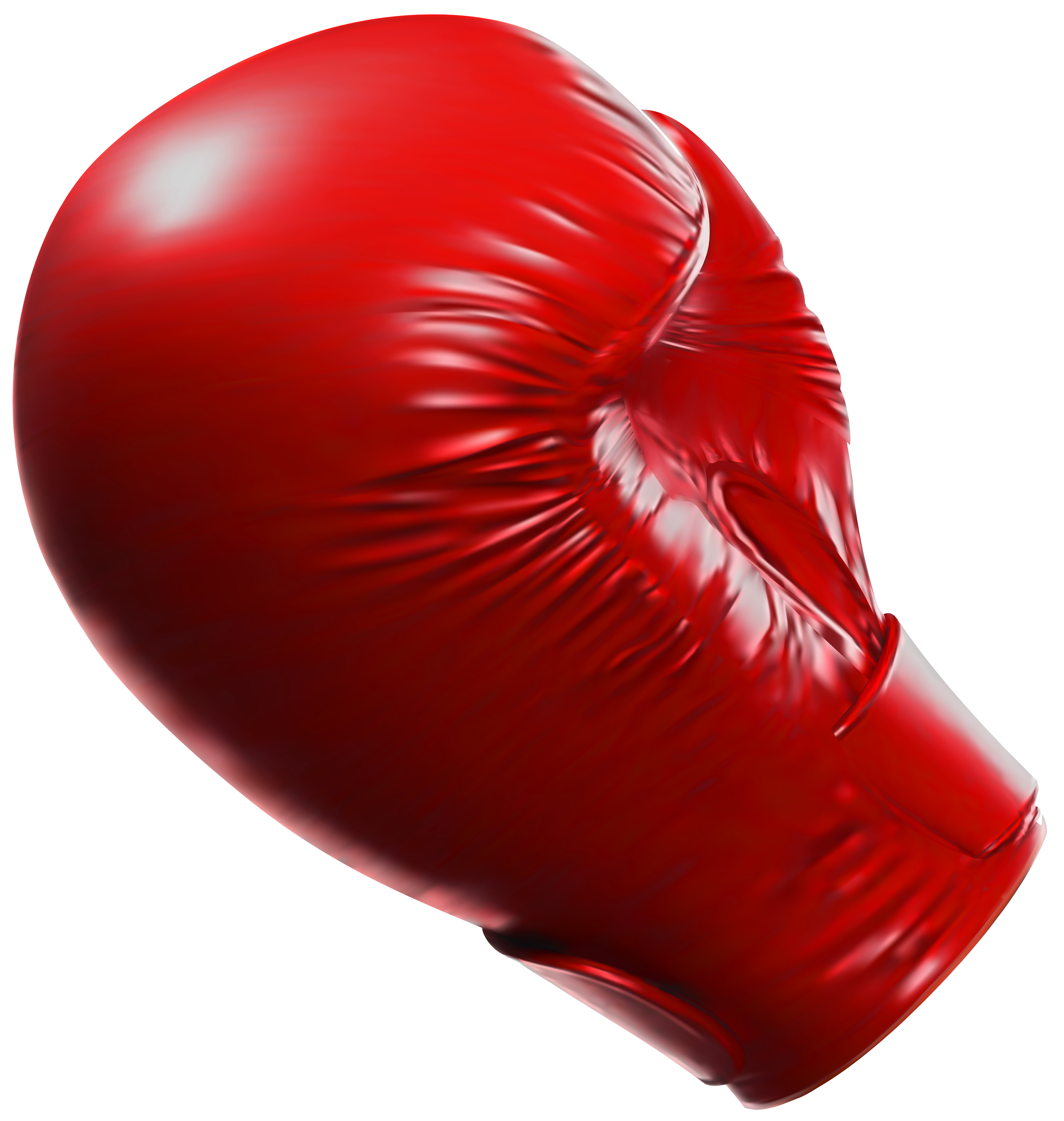 Red Boxing Glove PNG Clipart.