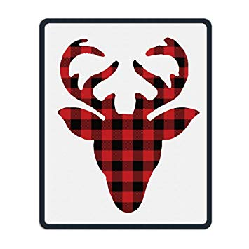 Amazon.com : Buffalo Plaid Moose Head Unique Mouse Pad.