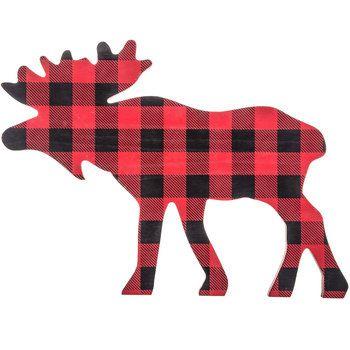 Moose clipart plaid, Moose plaid Transparent FREE for.