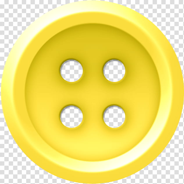 Buttons , yellow button transparent background PNG clipart.