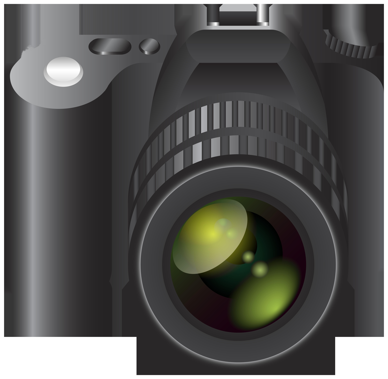 Camera Transparent Clip Art Image.