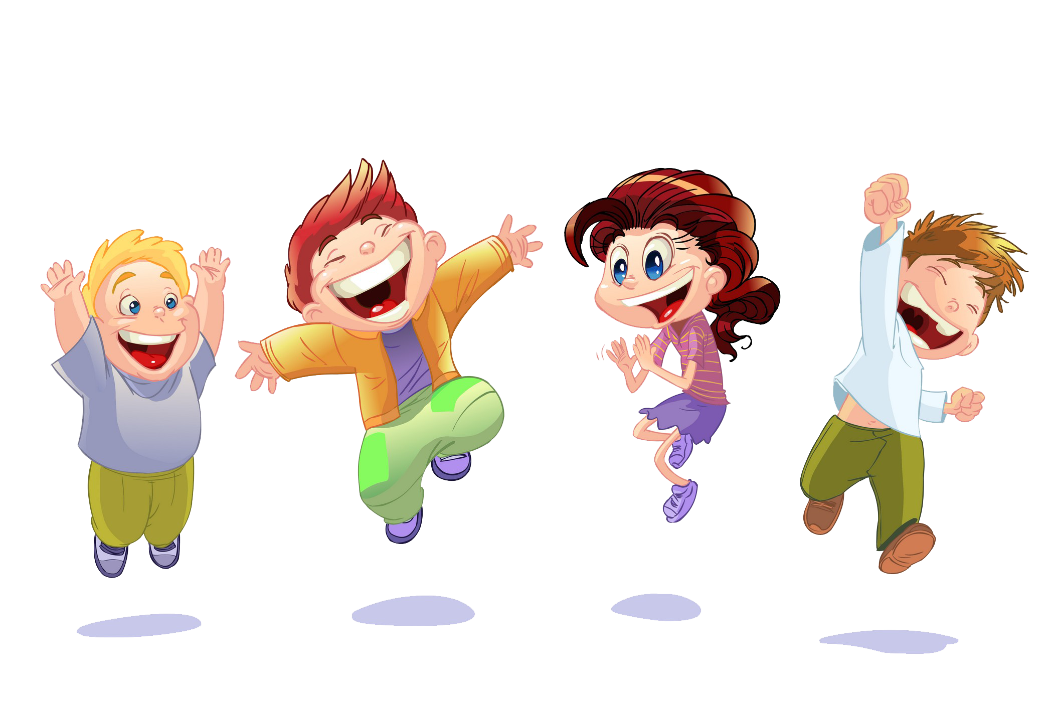 Cartoon Happiness Clip art.