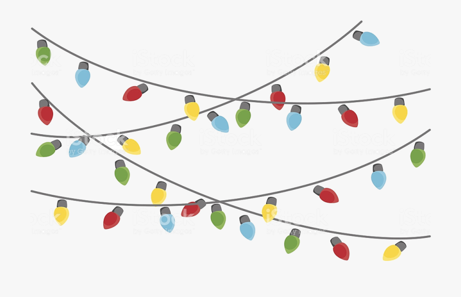 Christmas Lights Clipart Tumundografico Transparent.