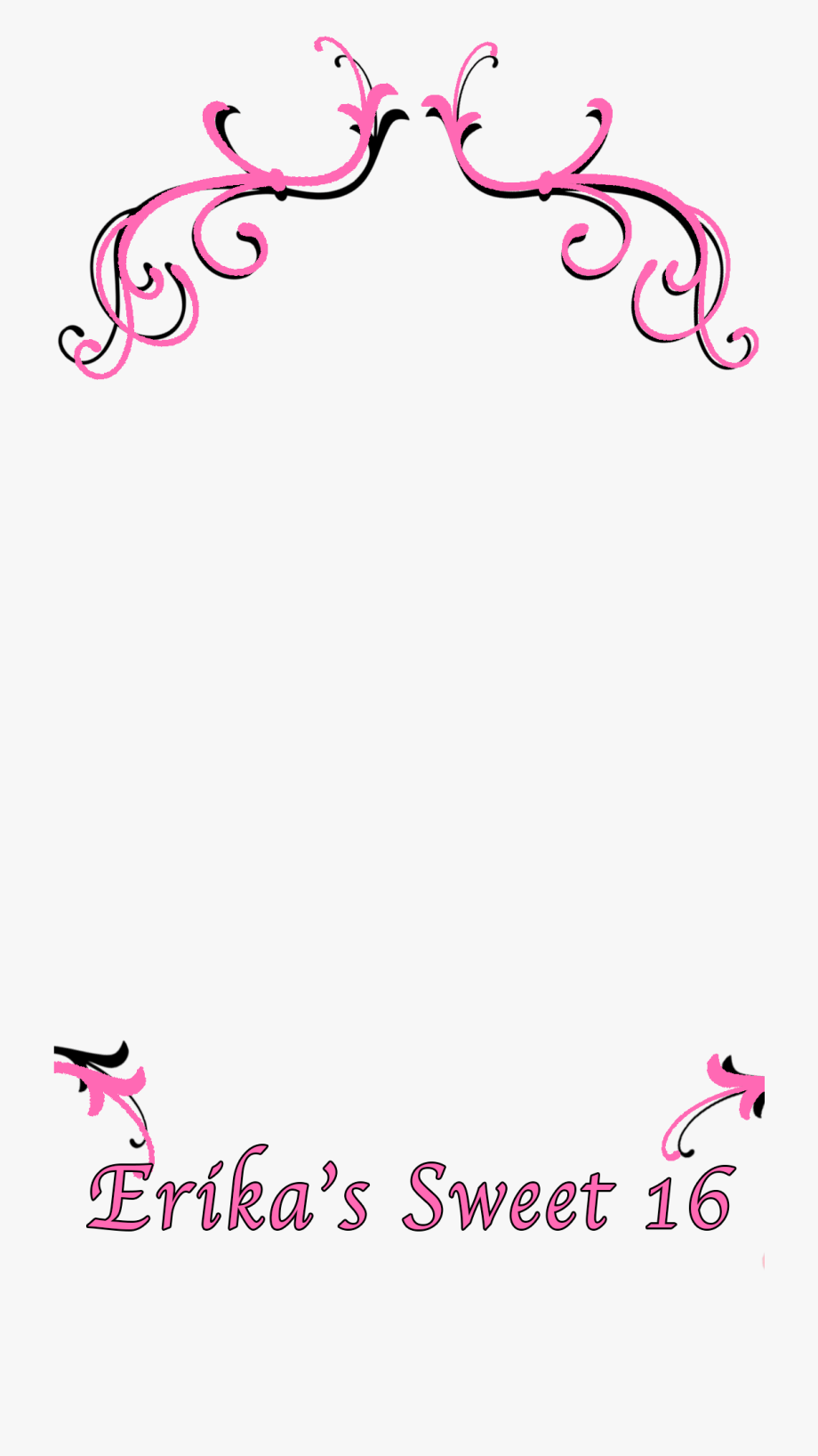 Snapchat Filters Clipart Heart.