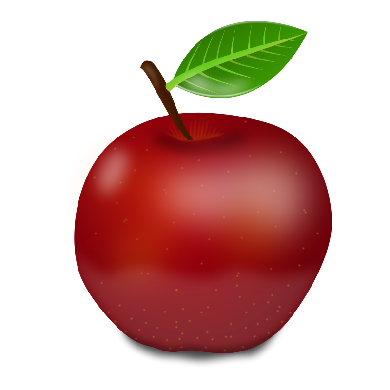 Apple Clip Art Transparent.
