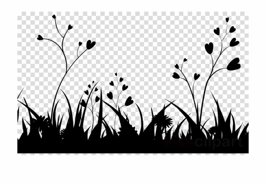 Grass Png Black.