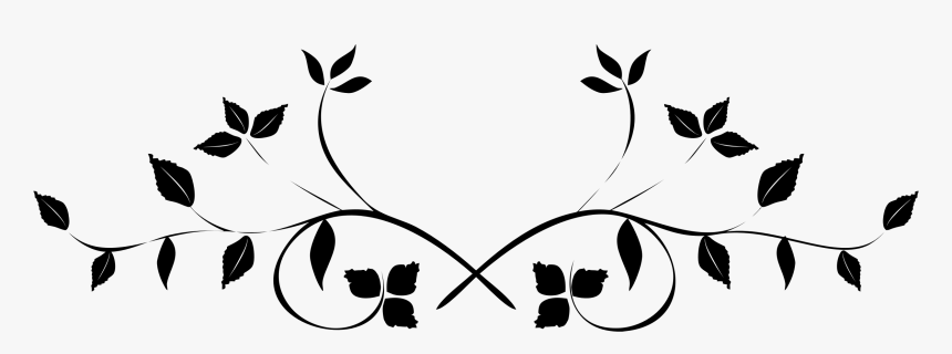 Leaf Flourish Transparent Image Clipart.
