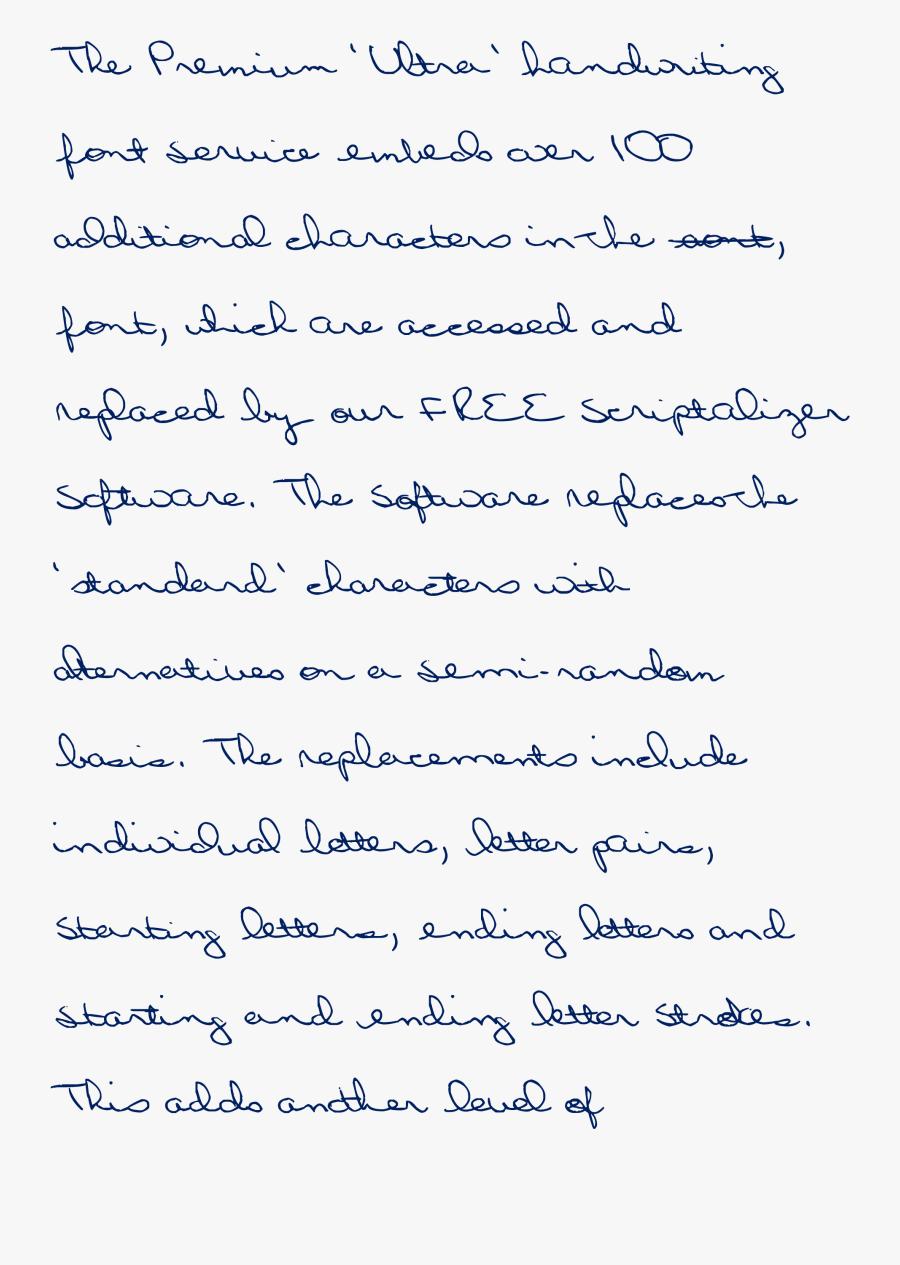 Clip Art Doctor Handwriting Font.