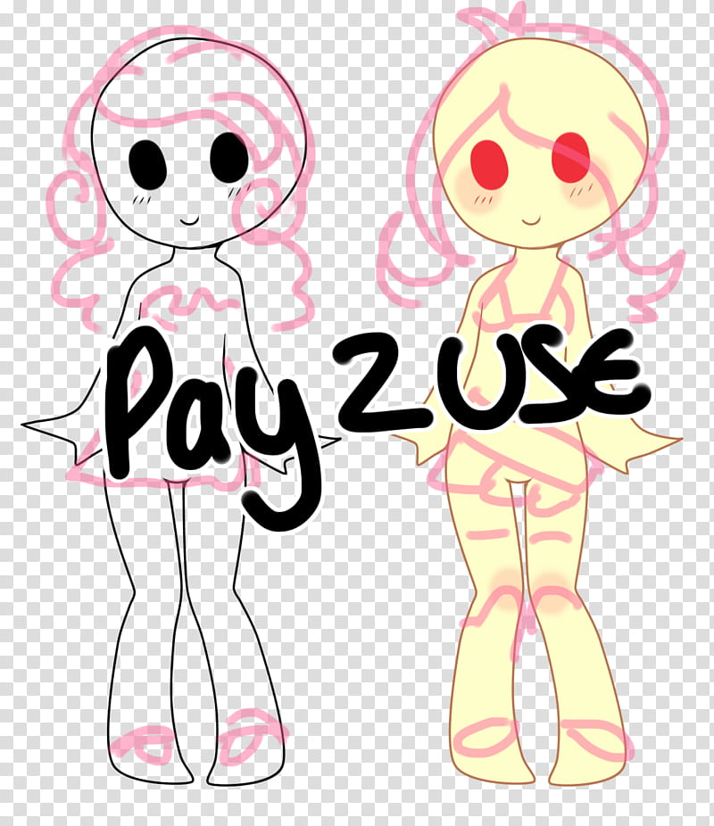 PU ADOPTABLE BASE, two white and beige human form.