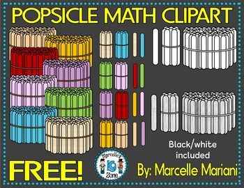 POPSICLE MATH CLIP ART.