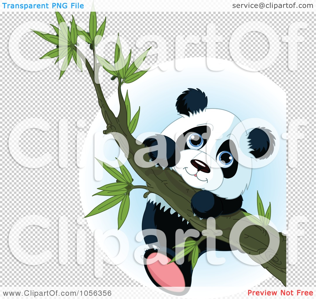 Transparent Clipart Bear Climbing Tree.