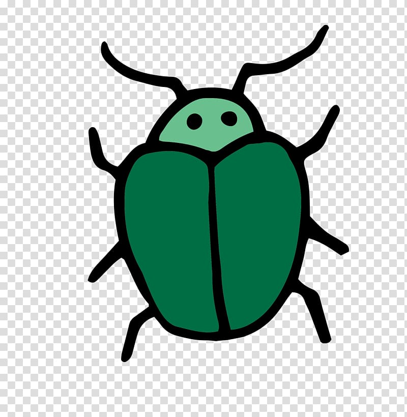 Insect , Green bug material transparent background PNG.
