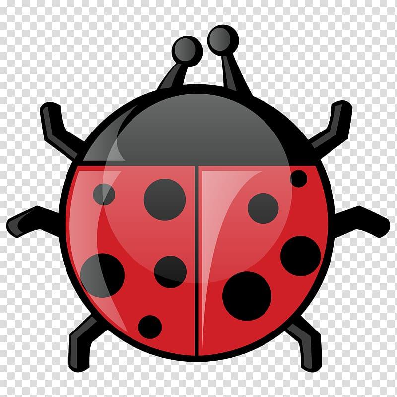 Beetle Ladybird , Flying Ladybug transparent background PNG.