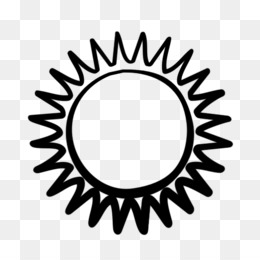 Sun Black And White PNG and Sun Black And White Transparent.