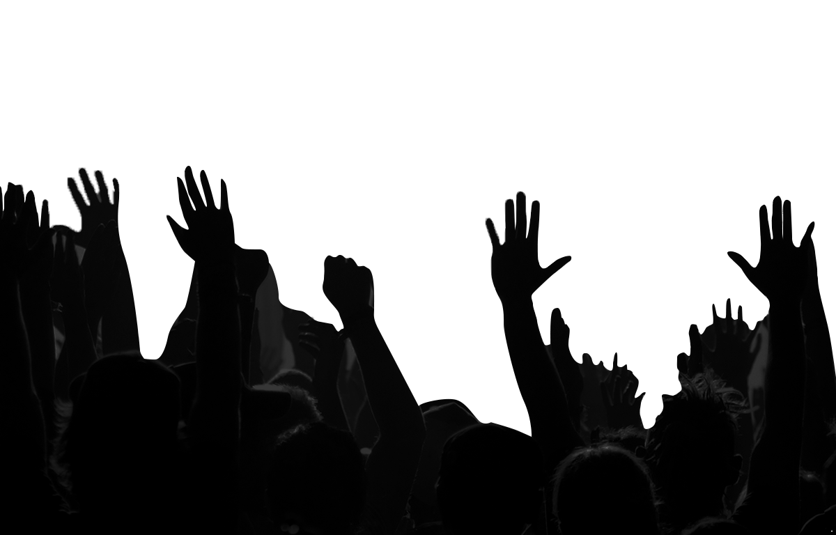 Crowd PNG Images Transparent Background.