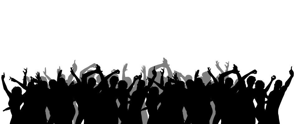Crowd Silhouette.