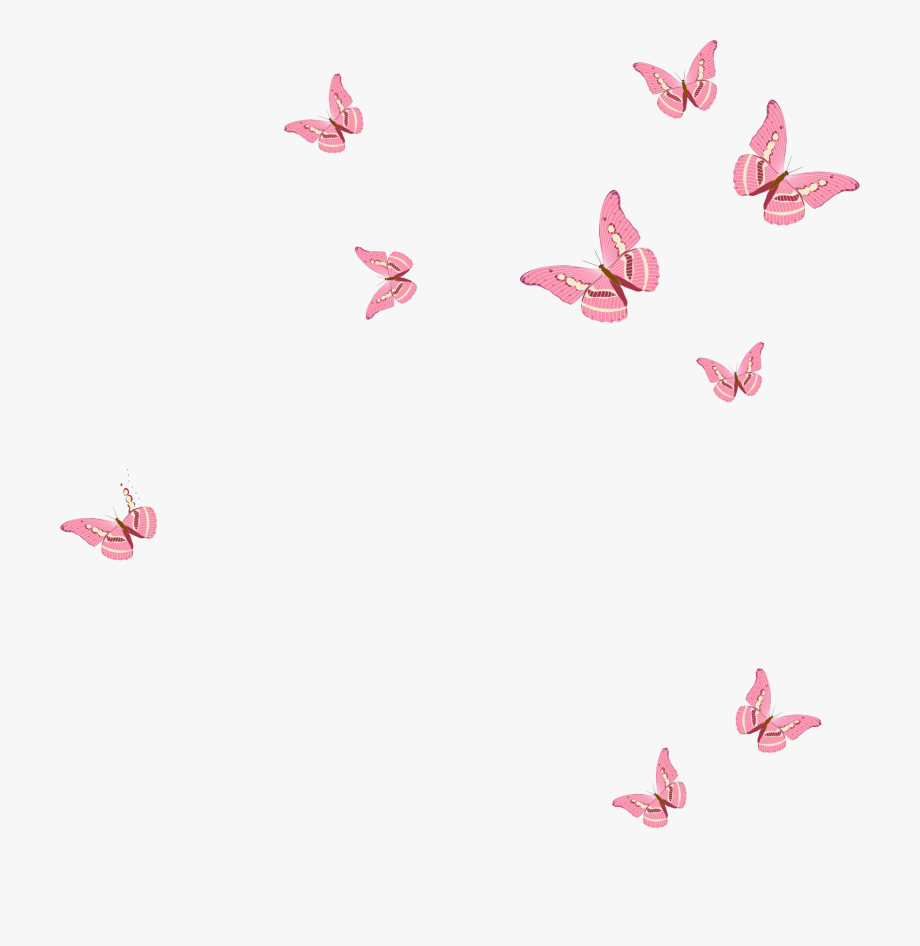 Pink Butterfly, Clip Art, Stickers, Animals, Pink Garden.