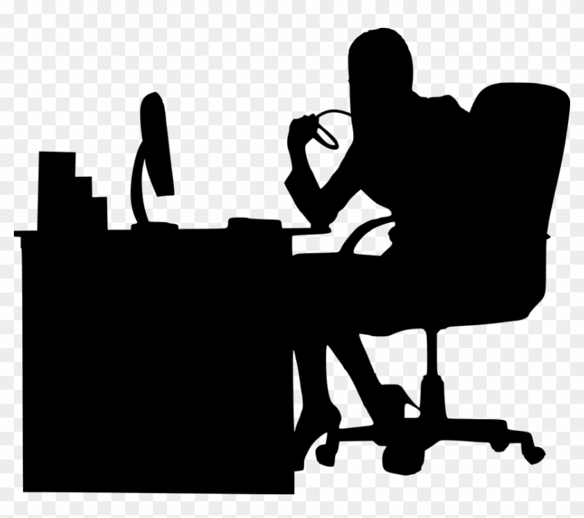 Business Woman Silhouette Png.
