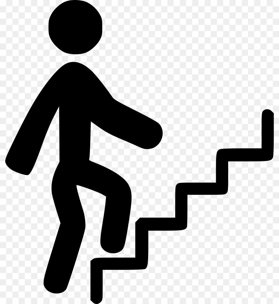 Stick figure Stair climbing Sport Clip art.