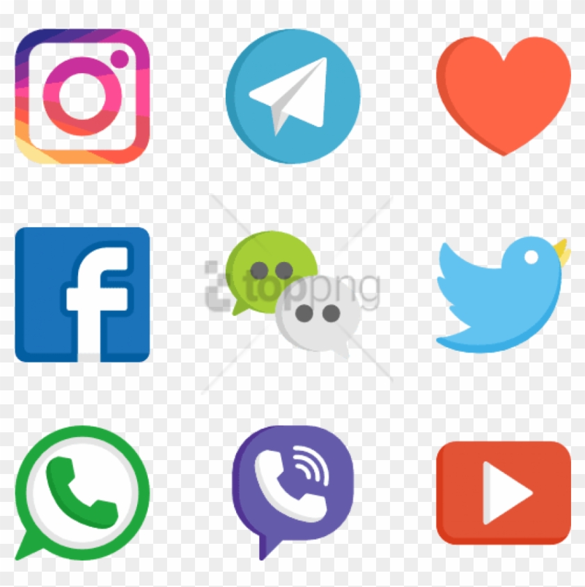 Free Png Social Media Logos Web Design 50 Free Icons.