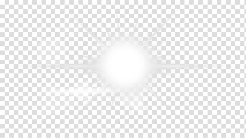 White star illustration, Light Lens flare Yu.