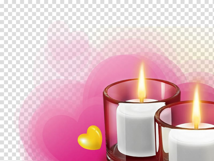 Light Candle , Candlelight transparent background PNG.