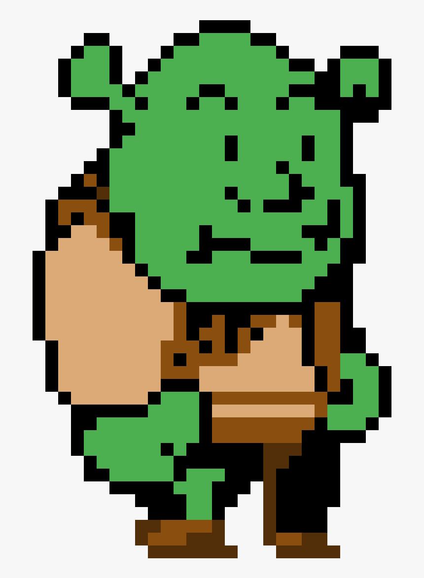 Transparent Shrek Face Png.