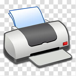Refresh CL Icons , Printer_OFF, gray printer illustration.