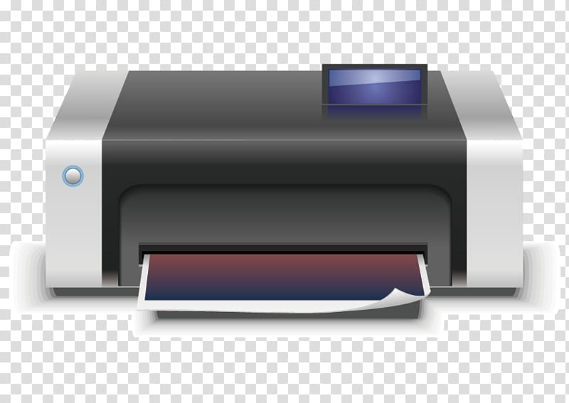 Printer Euclidean Icon, Printer transparent background PNG.