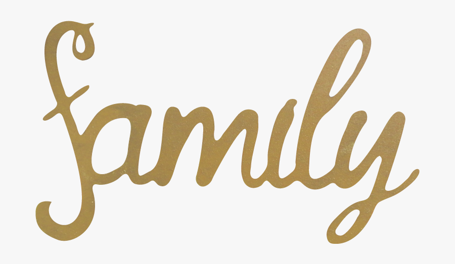Family Word Transparent Background , Free Transparent.