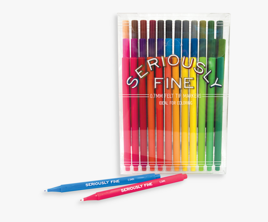 Ooly Seriously Fine Felt Tip Markers 130.