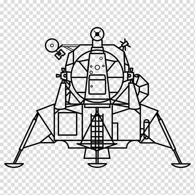Apollo Lunar Module transparent background PNG clipart.