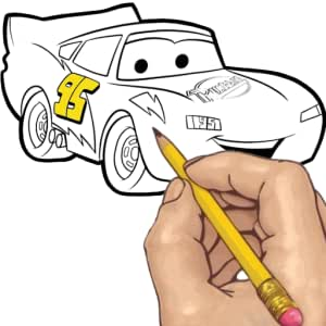 How to Draw: Cars Movie Characters.