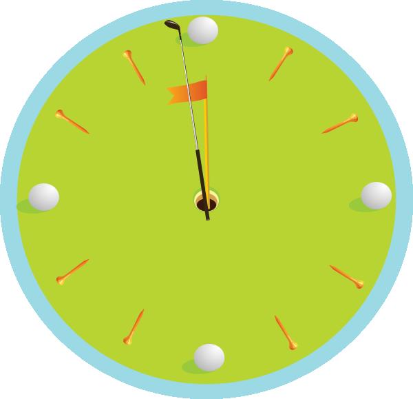 Golf Clock Clip Art at Clker.com.
