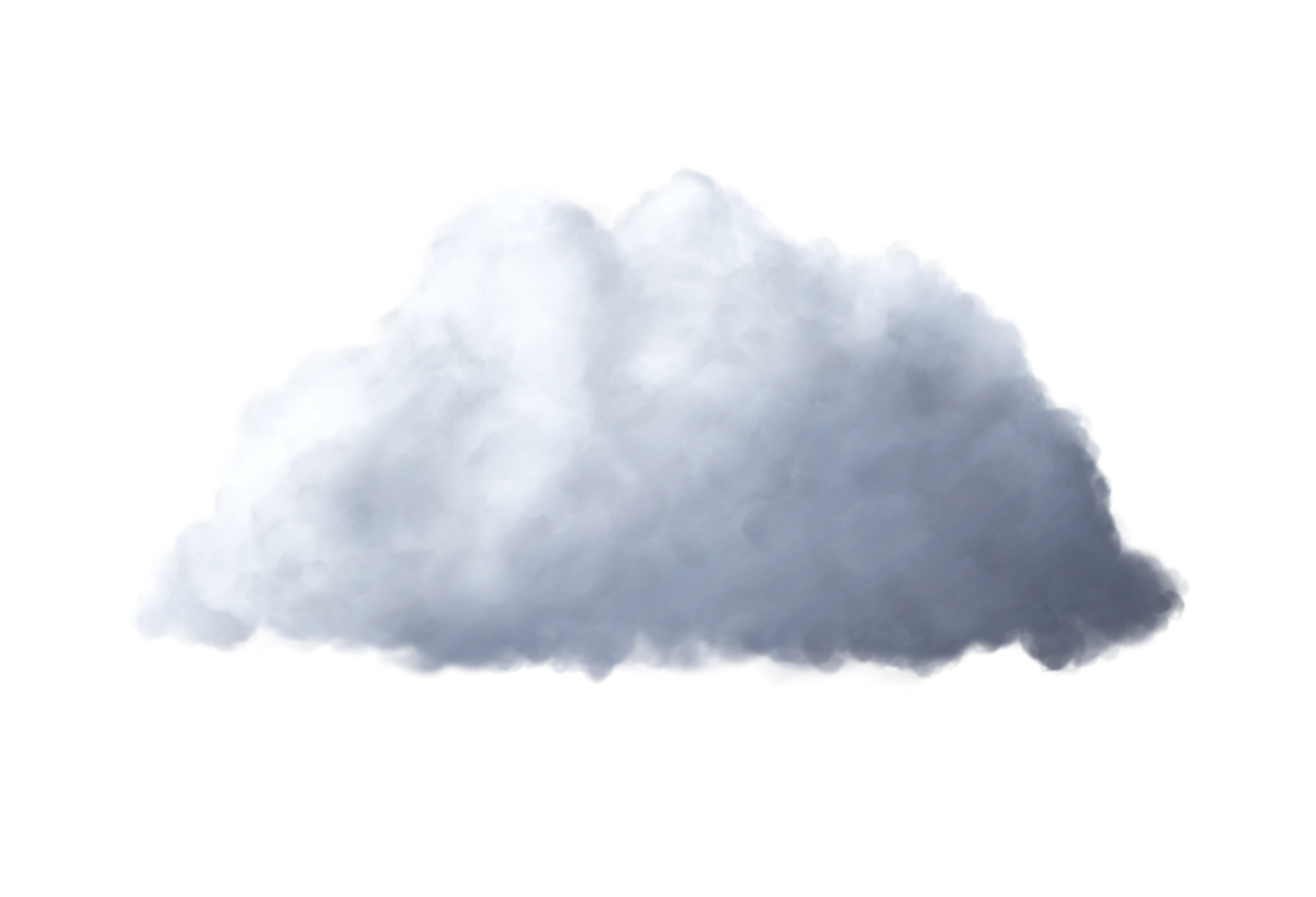 White Cloud PNG Image.