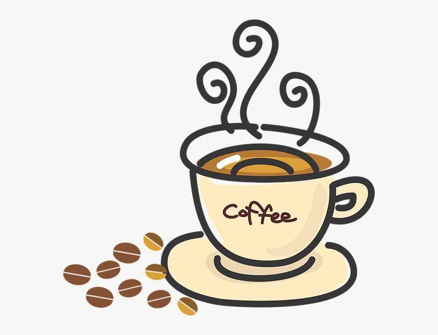 Transparent Cup Of Coffee Clipart.