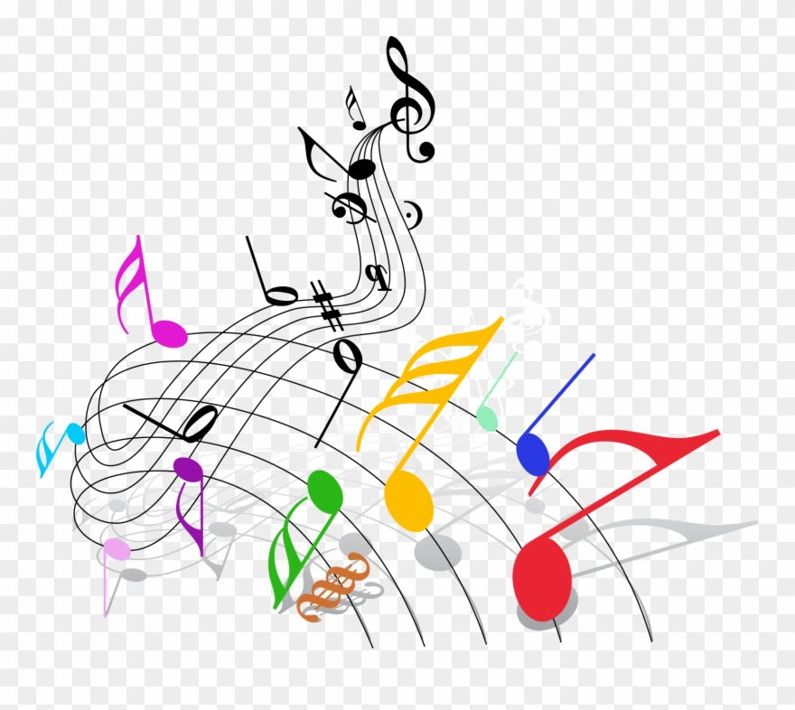 Png Black And White Download Musical Note Theatre Clip.