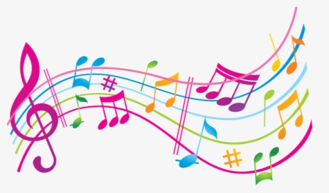 Colorful Musical Notes PNG Images, Transparent Colorful.