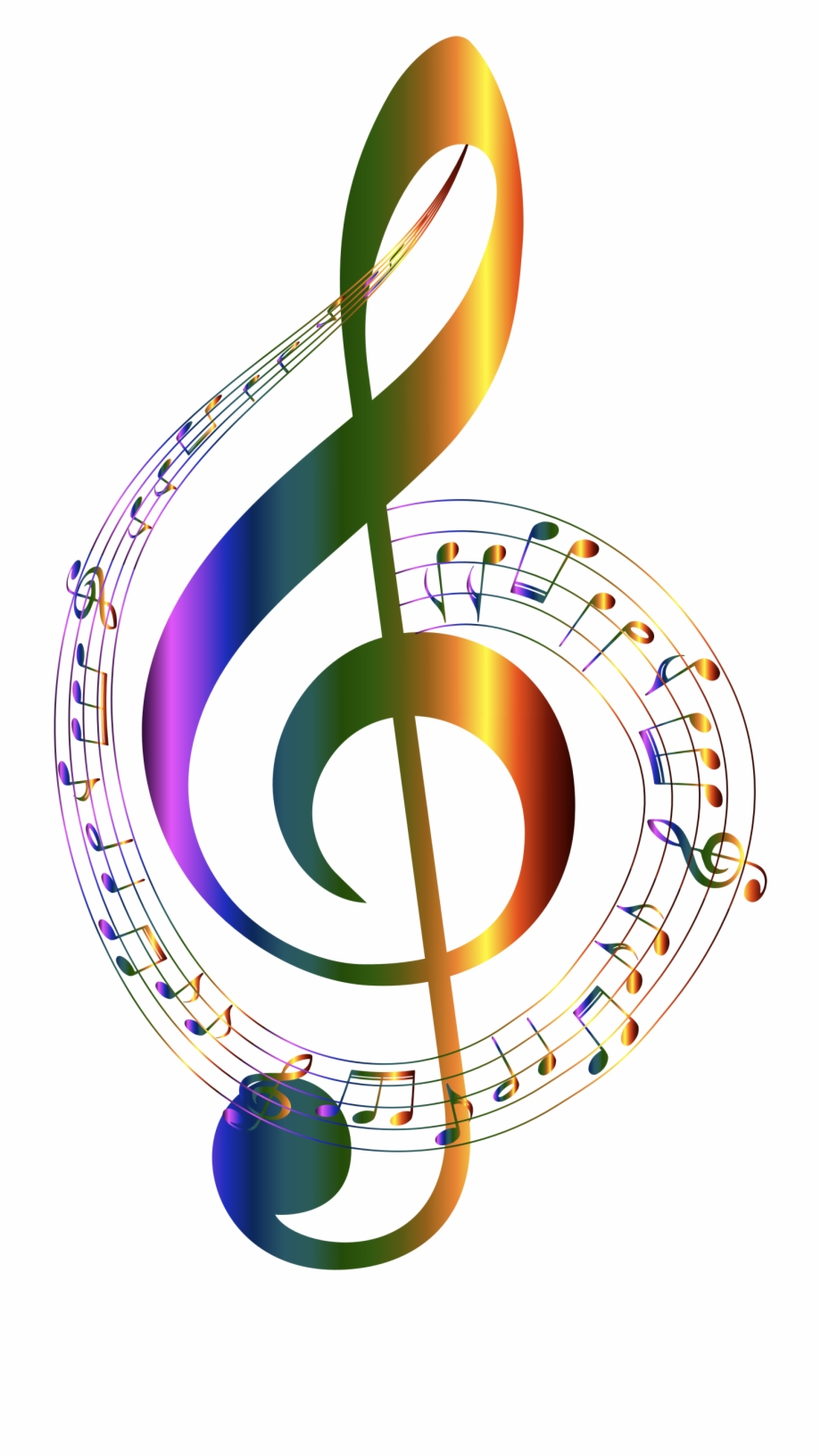 Free Music Notes Clipart Transparent Background, Download.
