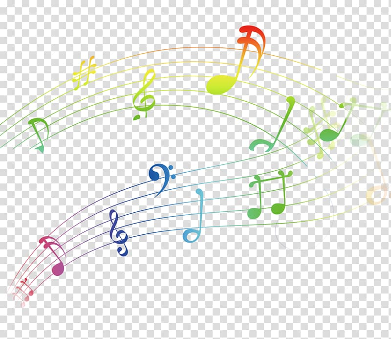 Musical notes , Musical note Musical notation Graphic design.