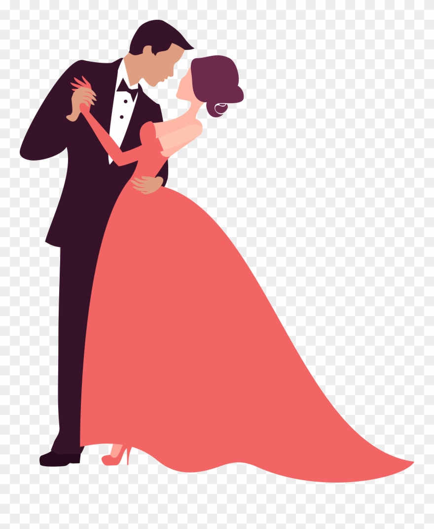 Bridegroom Photography Clip Art Couple Dancing Decoration.