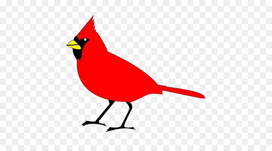 Cardinal Bird png download.