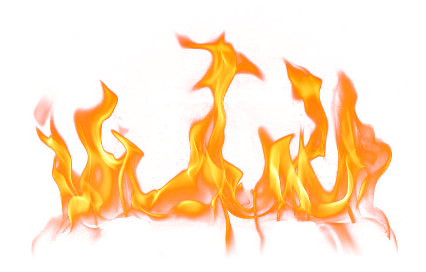 Fire PNG Clipart Image.