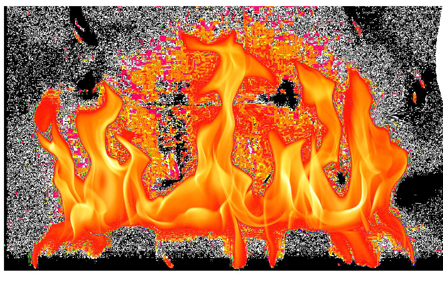 transparent fire clipart #9