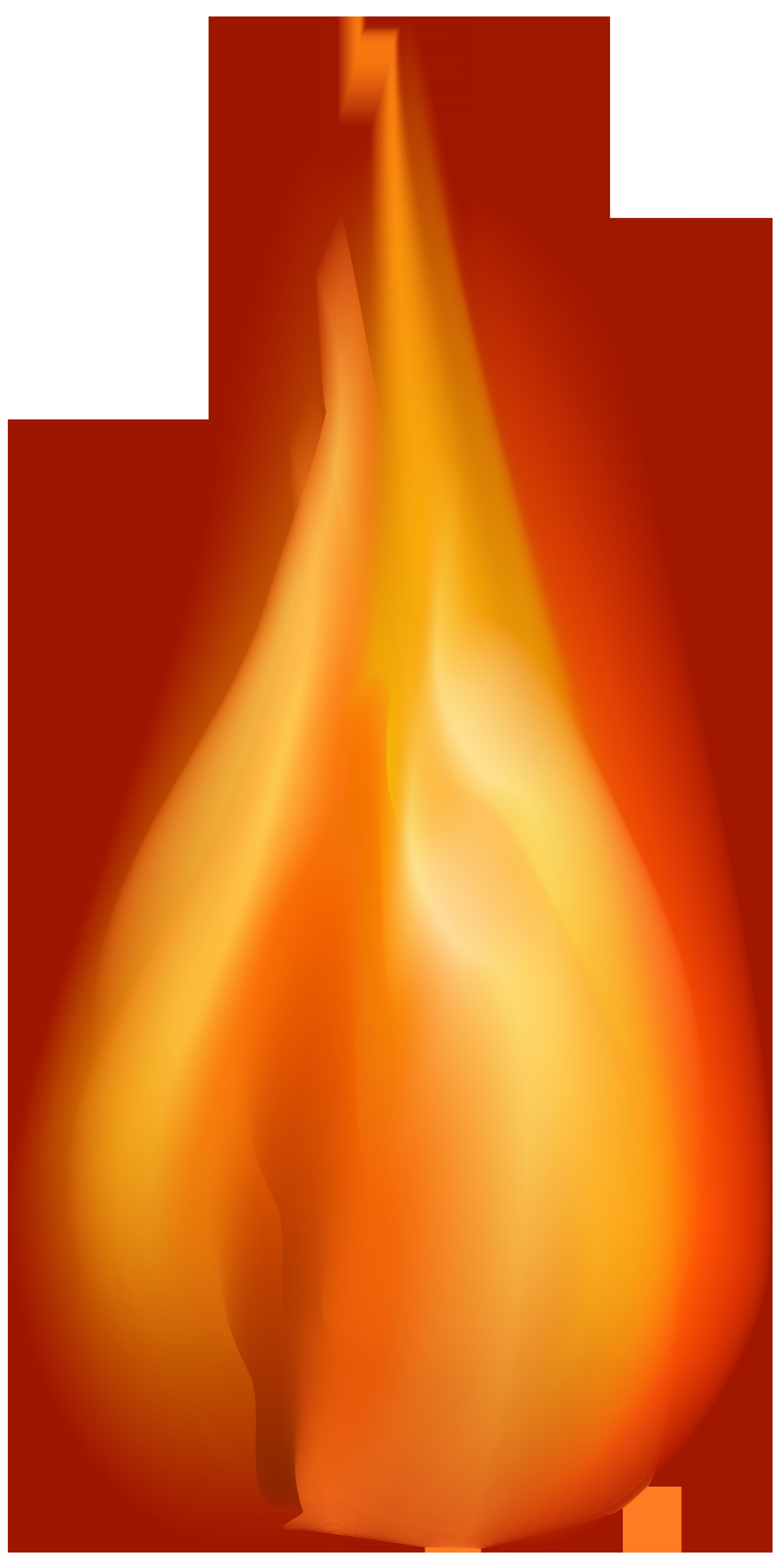 transparent fire clipart #3
